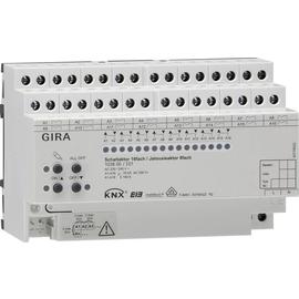 103800 GIRA SCHALT-/JALOUS. AKTOR 16-FACH 16A REG 8TE HANDB. Produktbild