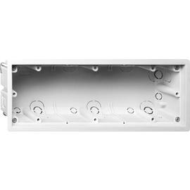 289800 Gira Gerätedose 3-Fach E2 für flache Montage, für UP Dose 289300 Produktbild