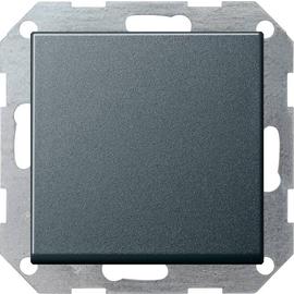 12628 GIRA TASTSCHALTER WECHSEL SYSTEM 55 ANTHRAZIT Produktbild