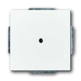 1742-84 Busch&Jäger Blindzentralstück mit Tragring Future Linear Studioweiß Produktbild