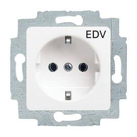 20 EUCQ/DV-214 BUSCH-JAEGER SCHUKO- STECKDOSE AUFDR. EDV REFLEX SI ALPINWS. Produktbild