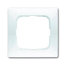 1721-214 BUSCH-JAEGER RAHMEN 1-FACH REFLEX SI SPRING ALPINWEISS Produktbild