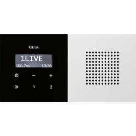 2280112 GIRA UP RADIO RDS FLÄCHE REINWEISS GLÄNZEND Produktbild