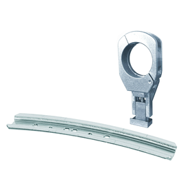 350070 Triax MFU 1 Set slim Alu-Schine für 2 LNBs Produktbild