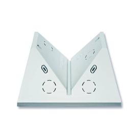 6868-204 BUSCH&JÄGER Decken-/Eckadapter für Wächter Professional alpinweiss Produktbild