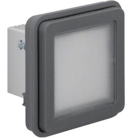 51733515 BERKER W.1 LED-Signallicht-Ein. rot/grün Beleuc. Ap/Up, grau matt, FR AP Produktbild