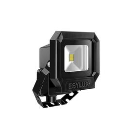 EL10810015 ESY-LUX LED Strahler 10W schwarz 3000K Produktbild