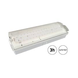 SP-NL-7W-3h-AT Spektra LED Notleuchte LED IP65 3h Auto Test 440lm 7W IP65 Produktbild