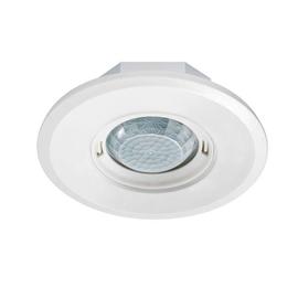 EP10427886 Esylux Deckenbewegungsmelder 360° UP, flach, RW Ø8m, rund, weiß Produktbild