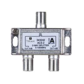 343242 Triax ACS2 2-fach Verteiler 4dB 1 GHz, Class A Produktbild