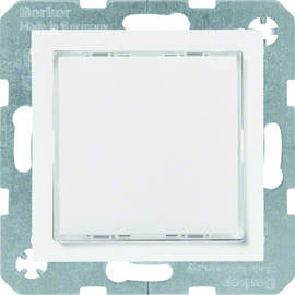 29528989 Berker S.1/B.x LED-Signallicht rote/grüne Beleuchtung, polarweiß glänz. Produktbild