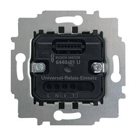 6440/01 U Busch&Jaeger Komfortschalter Universal-Relais-Einsatz Produktbild