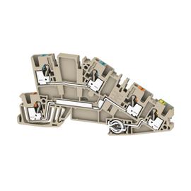 2669020000 Weidmüller AITB 2.5 N-L-PE Installations-Etagenklemme Produktbild
