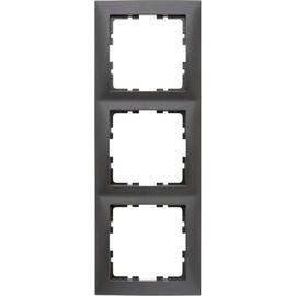 10139949 Berker Rahmen 3fach S.1 anthraz matt Produktbild