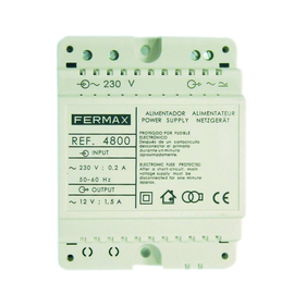 F4800 Fermax Spannungsversorgung für Standardanlagen, 230V /12V/1,5 A Produktbild