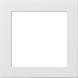 0282112 Gira Zwischenplatte 50x50 reinweiß glänzend Produktbild