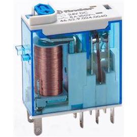 46.52.9.024.0040 FINDER Industrie Miniat ur Relais 2Wechsler 8A 24VDC Produktbild