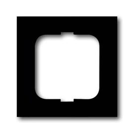 1721-885K Busch&Jäger 1-Fach Rahmen Future Linear Schwarz matt Produktbild