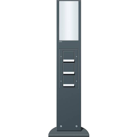 134228 Gira Lichtelement 769mm 3xSchuko KS Energiesäule anthrazit Produktbild