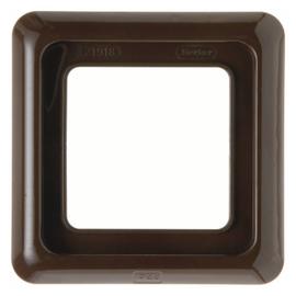132801 Berker Rahmen 1 Fach FR UP Braun Produktbild