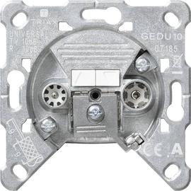 004100 GIRA Antennensteckdose GEDU 10 Ei nsatz Produktbild