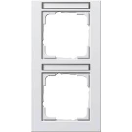 110229 GIRA Rahmen 2-fach Produktbild