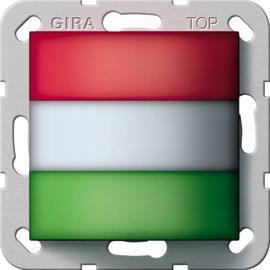 294200 GIRA Zimmersignalleuchte,rot,weiß grün,System 55 neutral Produktbild