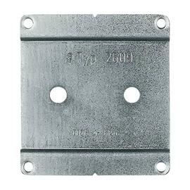 2609WS Busch & JÄGER Montageplatte stahlblech Produktbild