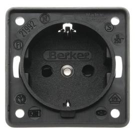 09419505 BERKER Steckdose INTEGRO schwarz Produktbild