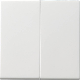 091503 GIRA Serienwippen Tastschalter System 55 Reinweiß Produktbild