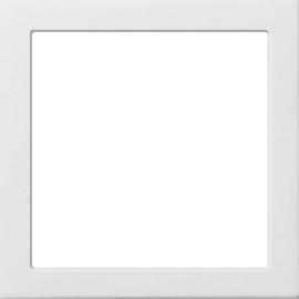 0289112 GIRA Adapterrahmen für System 55 Flächenschalter Reinweiß Produktbild