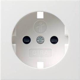 092103 GIRA Zentralstück zu Steckdose 045303 System 55 reinweiß glänzend Produktbild