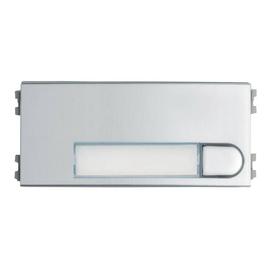 F7375 FERMAX Skyline Tastenmodul 1 Einfa chtaster, VDS, silber/chrom,Gr. V Produktbild