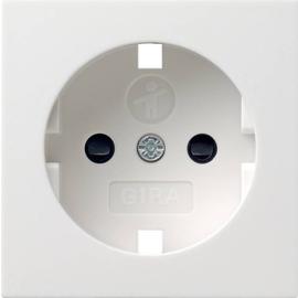 092127 GIRA Abdeckung SCHUKO KS System 55 Reinweiß matt Produktbild