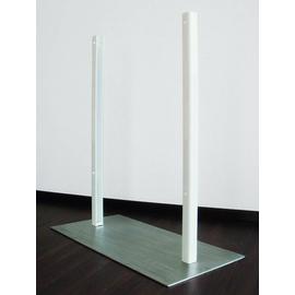 38576 Lava-Stand Etherma Standfuss aus Edelstahl z.horizontalen Montage Produktbild
