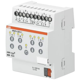 JRA/S 4.230.2.1 ABB KNX Jalousie-/Roll- Ladenaktor m.manu.Bedienung 4-F 230V AC Produktbild