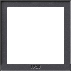 028967 GIRA Adapterrahmen für System 55 Gira TX_44 Anthrazit Produktbild