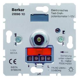 289610 Berker BERKER Drehpotentiometer 1-10V mit Tastfunktion Produktbild