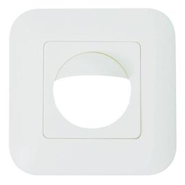 92630 BEG Abdeckung IP20 polarweiß (Rahmen m.Zentralstück 50x50mm) Produktbild