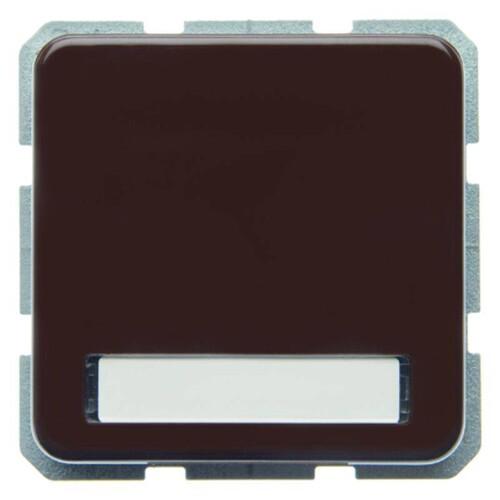 471901 Berker BERKER FR-UP SSTD.M.KLPD.u.SCHR.BRAUN mit Steckklemme Produktbild Front View L