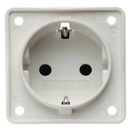 947792502 BERKER INTEGRO SSD mit erhöhten Berührungsschutz, polarweiß Produktbild