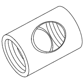 471 Kleinhuis KLEINHUIS Auslassnippel Messing M10x1 Produktbild