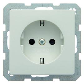 47236089 Berker Q.x SSD mit erh. Berührungsschutz polarweiß samt Produktbild