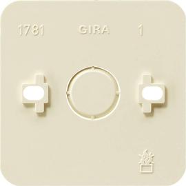 008113 GIRA Montageplatte 1fach Aufputz Produktbild