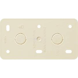 008013 GIRA Montageplatte 2fach Kombinationen Aufputz Produktbild
