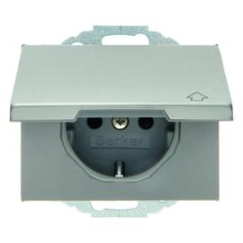 47477104 Berker K.5 SSD mit Klappdeckel und erhöhtem Berührungsschut Produktbild