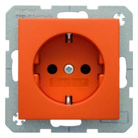 41431914 Berker S.1/B.x SSD mit Schraubklemmen orange matt Produktbild
