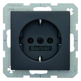 41431606 Berker S.1/B.x SSD mit Schraubklemmen anthrazit matt Produktbild