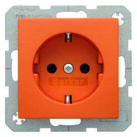 47231914 Berker BERKER S.1 SSD.m.SHUTTER, orange matt Produktbild