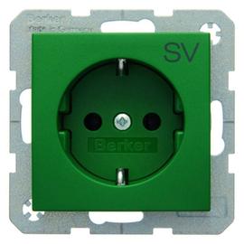 47431903 Berker BERKER S.1/B.x SSD mit Aufdruck SV grün matt Produktbild